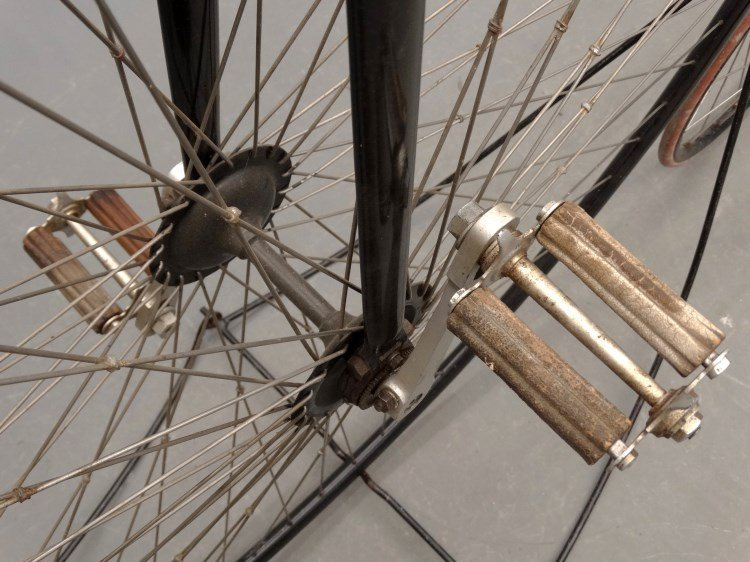New Mail High Wheel Ordinary Bicycle - 4