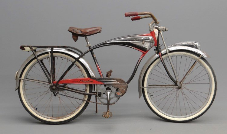 1952 Schwinn Black Phantom Bicycle