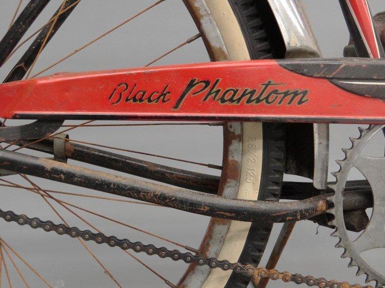 1952 Schwinn Black Phantom Bicycle - 4