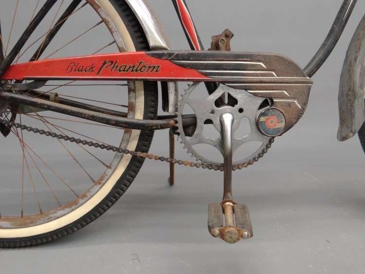 1952 Schwinn Black Phantom Bicycle - 5