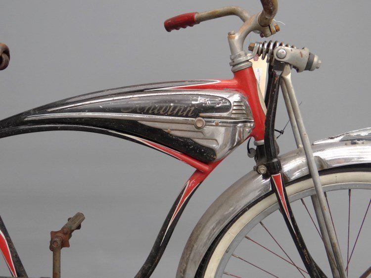 1952 Schwinn Black Phantom Bicycle - 6