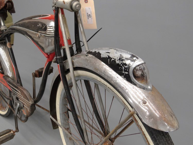 1952 Schwinn Black Phantom Bicycle - 9
