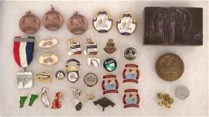 Wheelmen Medals and Pins Lot