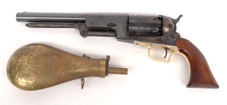 Commemorative Colt Pistol In Case