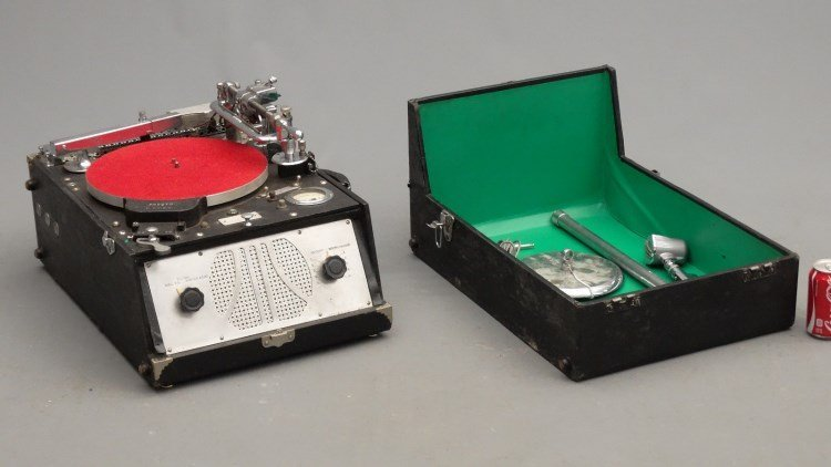 PRESTO RECORD CUTTER LATHE RECORDER, Type 12E