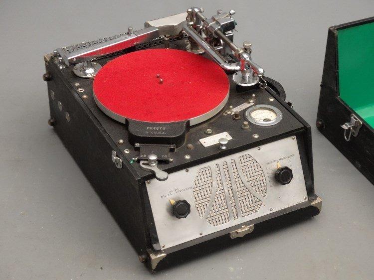 PRESTO RECORD CUTTER LATHE RECORDER, Type 12E - 2