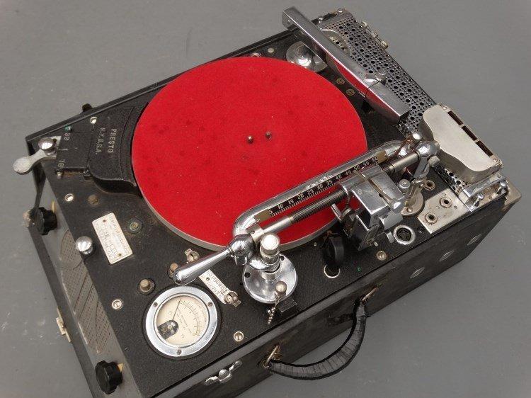 PRESTO RECORD CUTTER LATHE RECORDER, Type 12E - 3