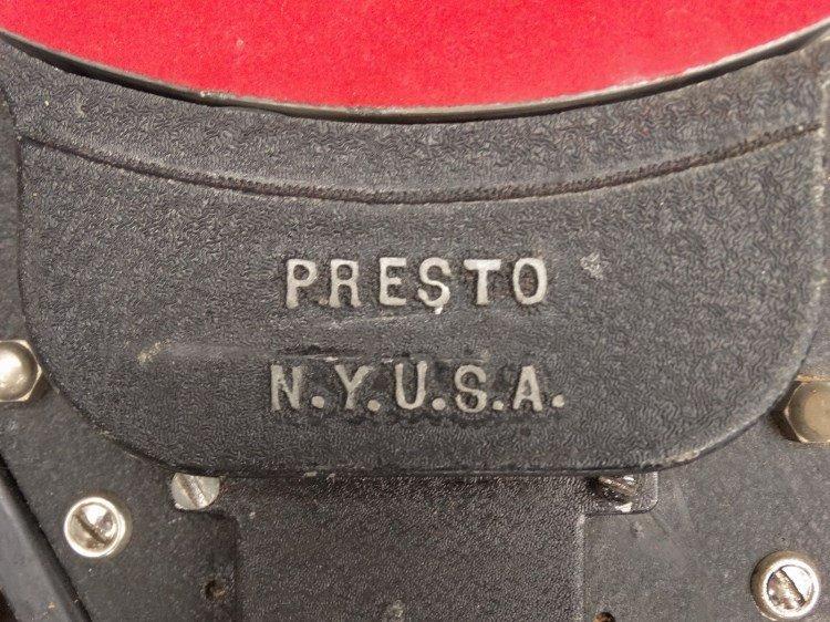 PRESTO RECORD CUTTER LATHE RECORDER, Type 12E - 4