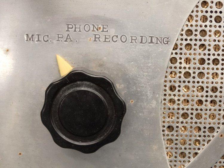 PRESTO RECORD CUTTER LATHE RECORDER, Type 12E - 7