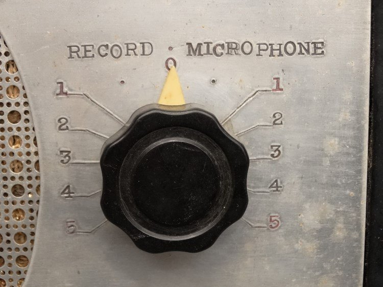 PRESTO RECORD CUTTER LATHE RECORDER, Type 12E - 8