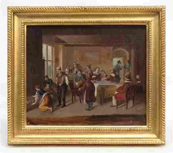 Continental School Interior Scene