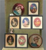 """Art Deco Prints Signed """"Marcel Le Boulte"""""""