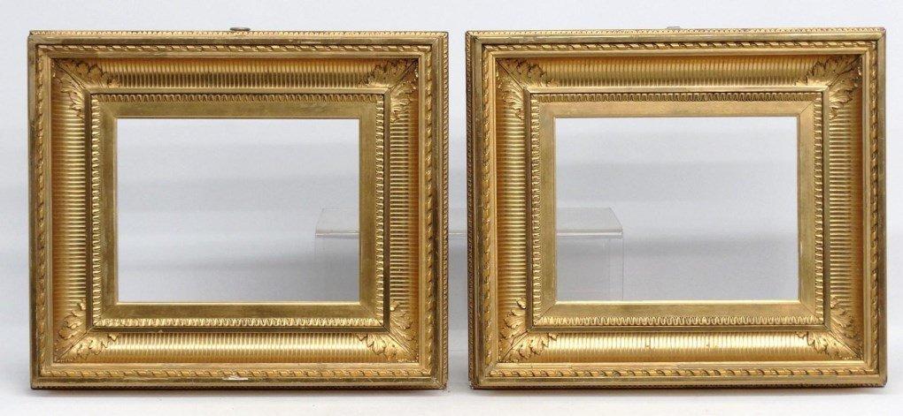 Pair 19th c. Frames