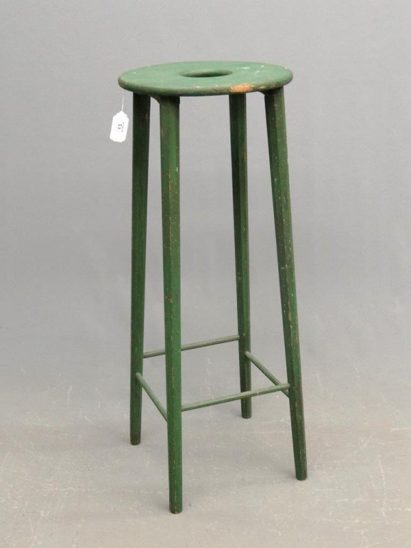 Tall Stand In Green Paint