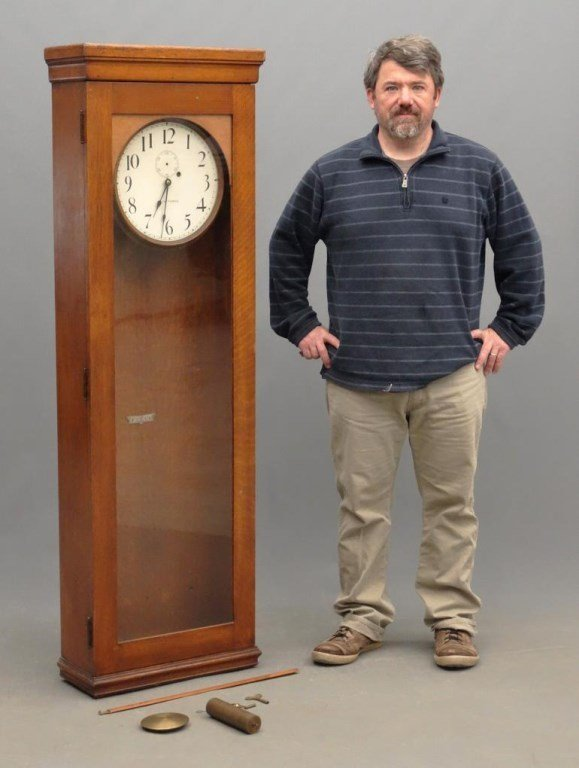Seth Thomas Long Case Regulator Clock