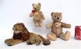 Steiff Teddy Bears  Unmarked Lion