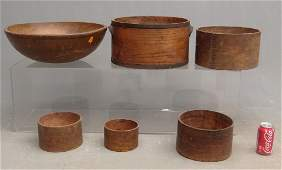 Woodenware Lot