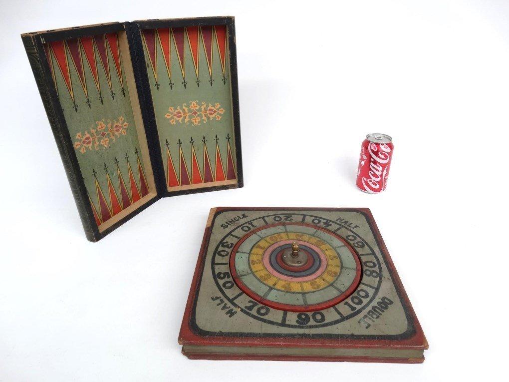 Game Board & Game Wheel