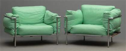 Pair Le Courbusier STYLE Chairs