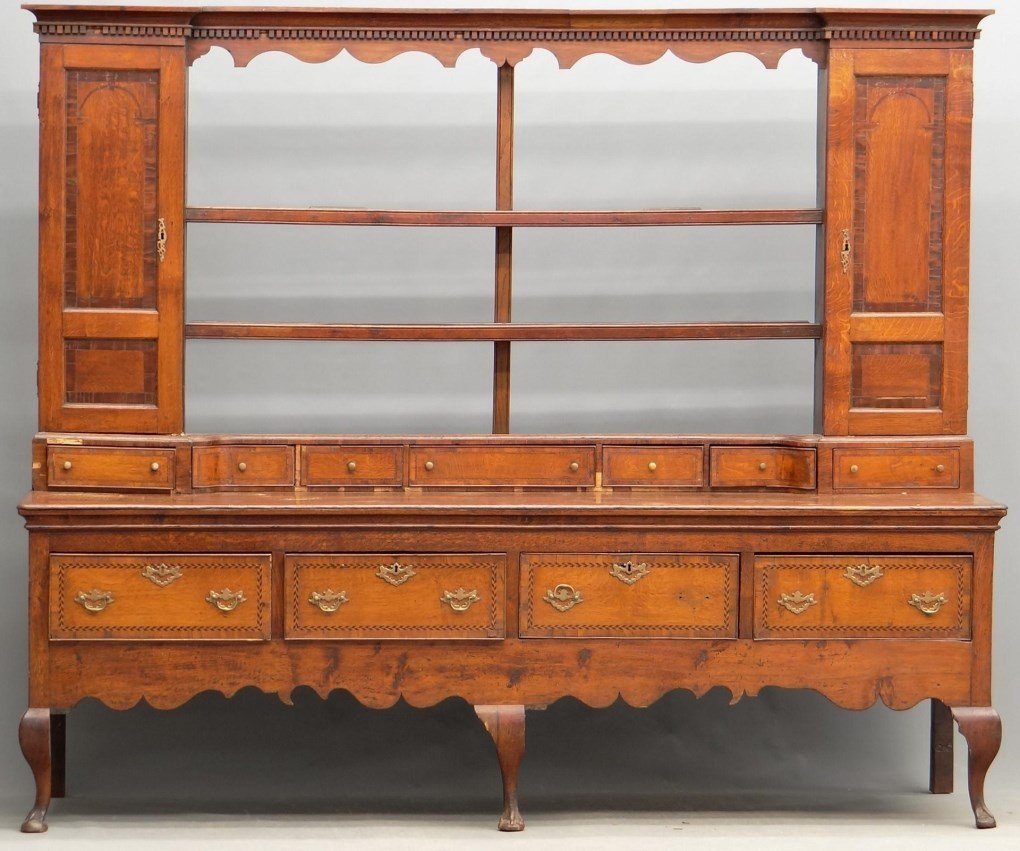 19th c. Welsh Cupboard