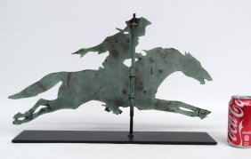Paul Revere Sheet Copper Weathervane