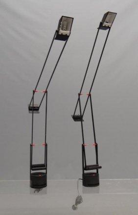 Pair Artemide Tizio Lamps
