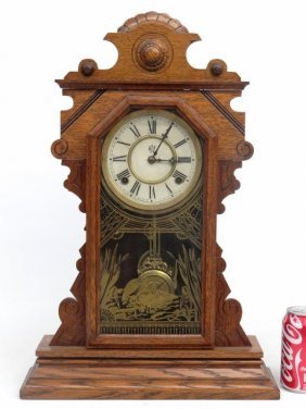 19th C. Mantle Clock