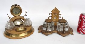 Victorian Inkwells