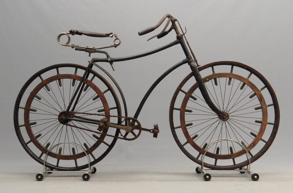 C. 1888 Hard Tire Safety Bicycle