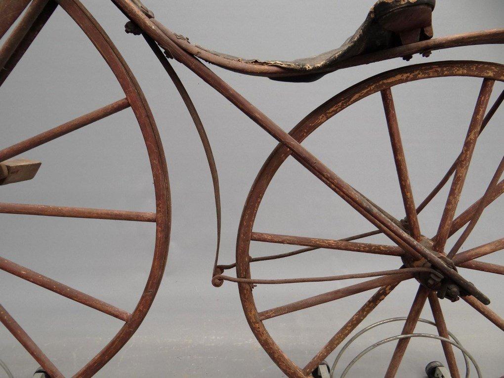 1879 Shire Boneshaker Bicycle - 10
