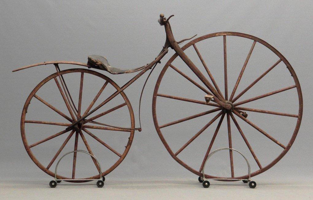 1879 Shire Boneshaker Bicycle