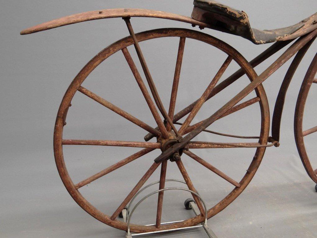1879 Shire Boneshaker Bicycle - 2
