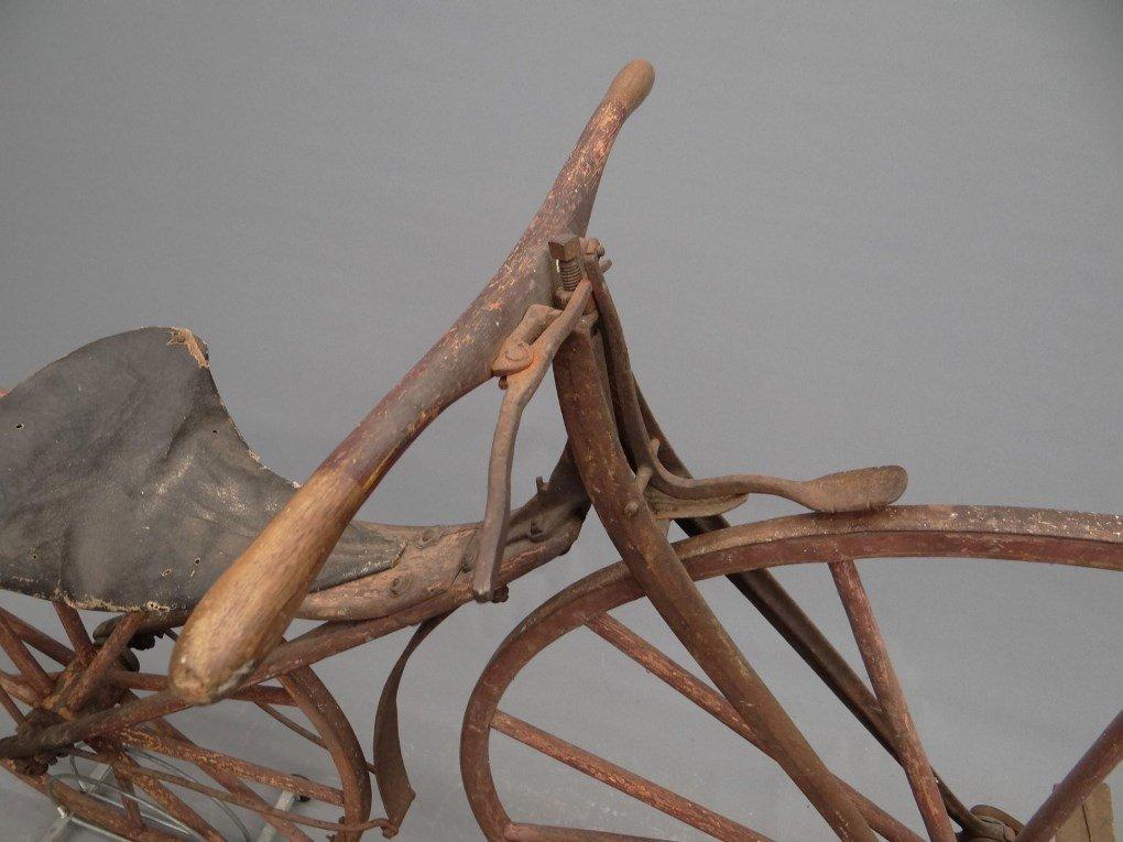 1879 Shire Boneshaker Bicycle - 4