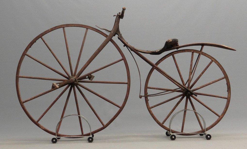 1879 Shire Boneshaker Bicycle - 7