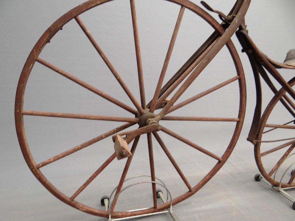 1879 Shire Boneshaker Bicycle - 8