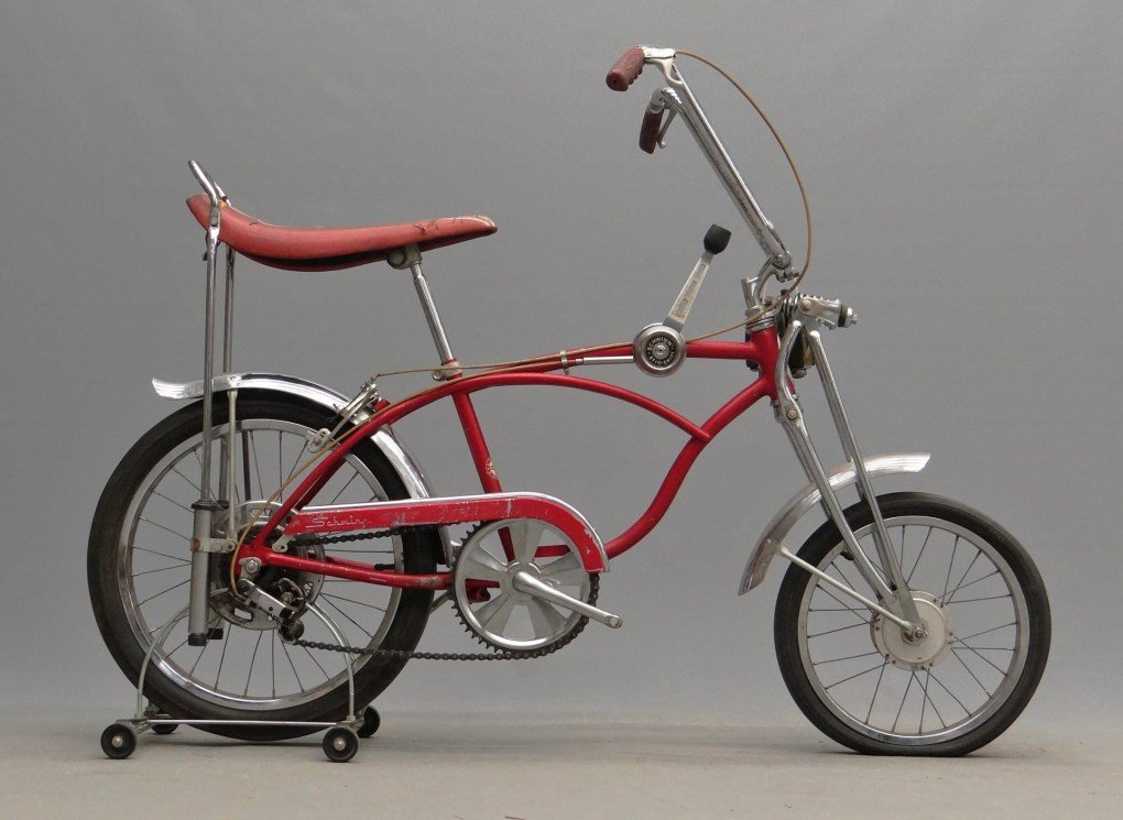 1968 Schwinn Stingray, Apple Krate Bicycle