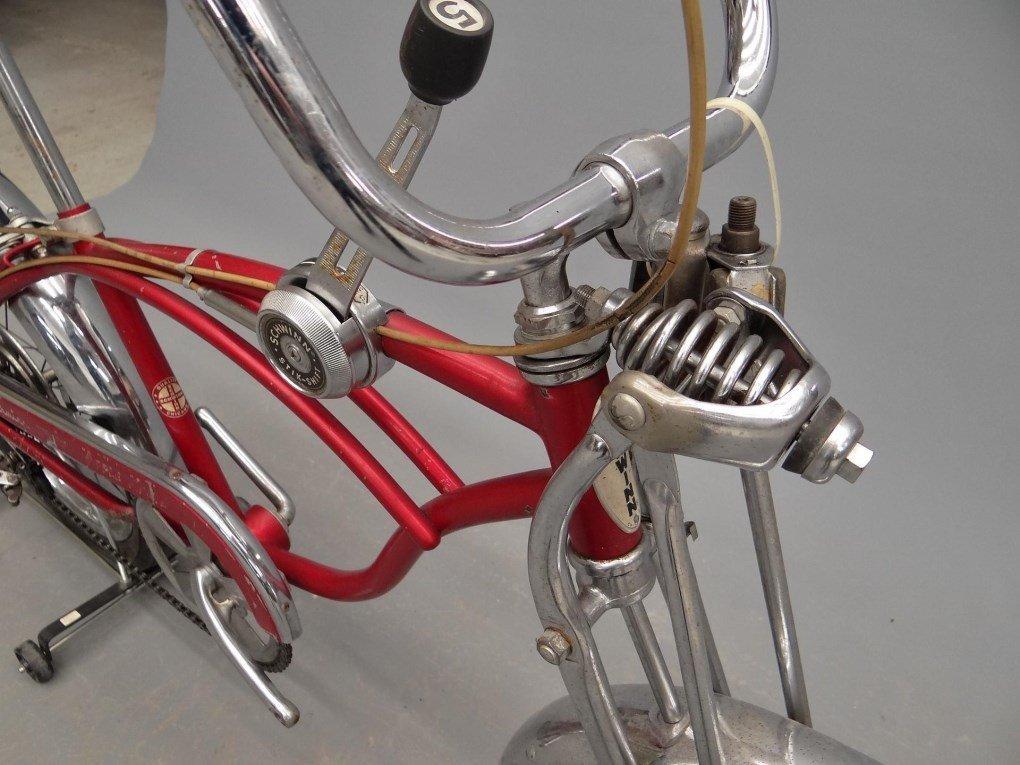 1968 Schwinn Stingray, Apple Krate Bicycle - 3