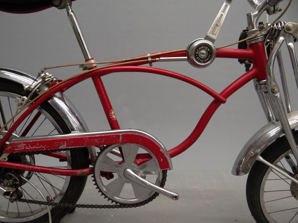 1968 Schwinn Stingray, Apple Krate Bicycle - 5