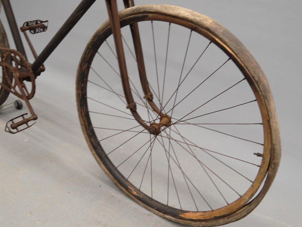 C. 1905 Pierce Cushion Tire Safety Bicycle - 2