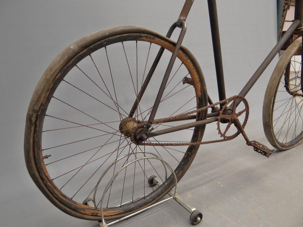 C. 1905 Pierce Cushion Tire Safety Bicycle - 8