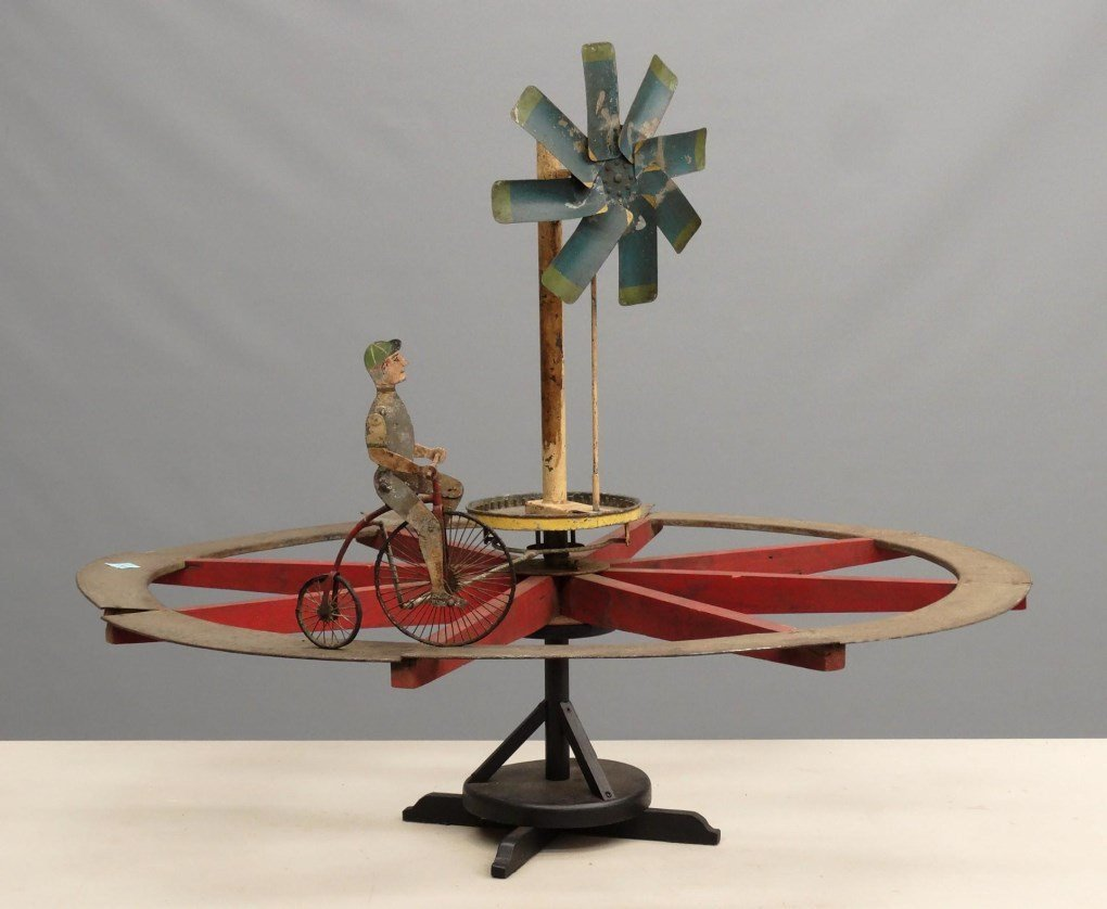 Bicycle Whirligig