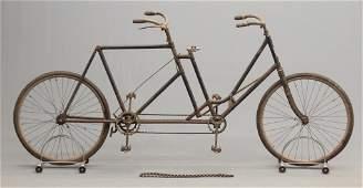 C. 1898 Crawford Tandem Bicycle