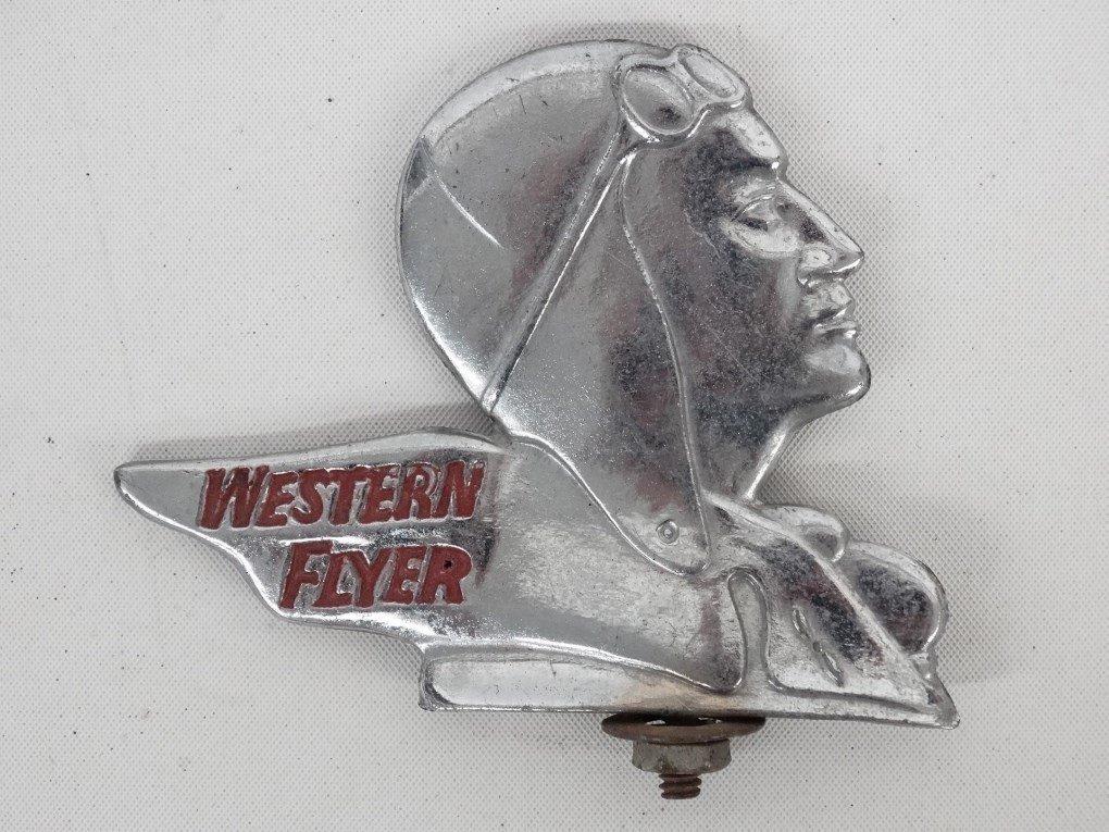 Western Flyer Bicycle Fender Ornament - 2