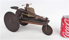 C. 1880 Velocipede Patent Model