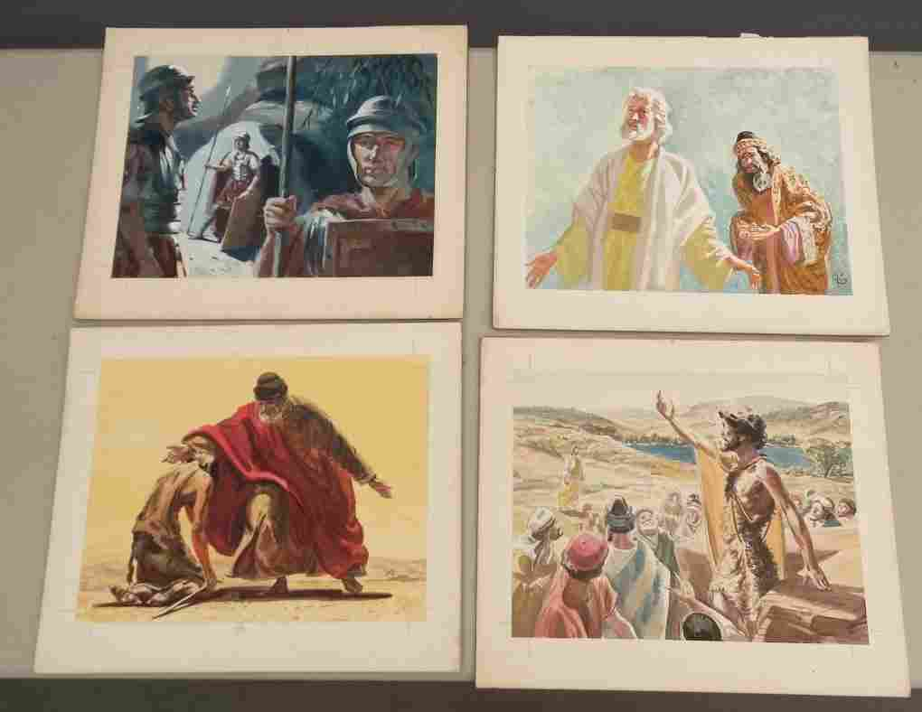 Lot of Original Illustrations