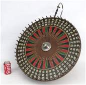 C. 1900's Game Wheel