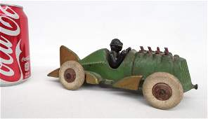 Hubley Race Car With Rider