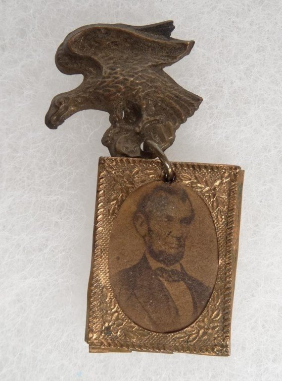 1864 Abraham Lincoln Campaign Badge