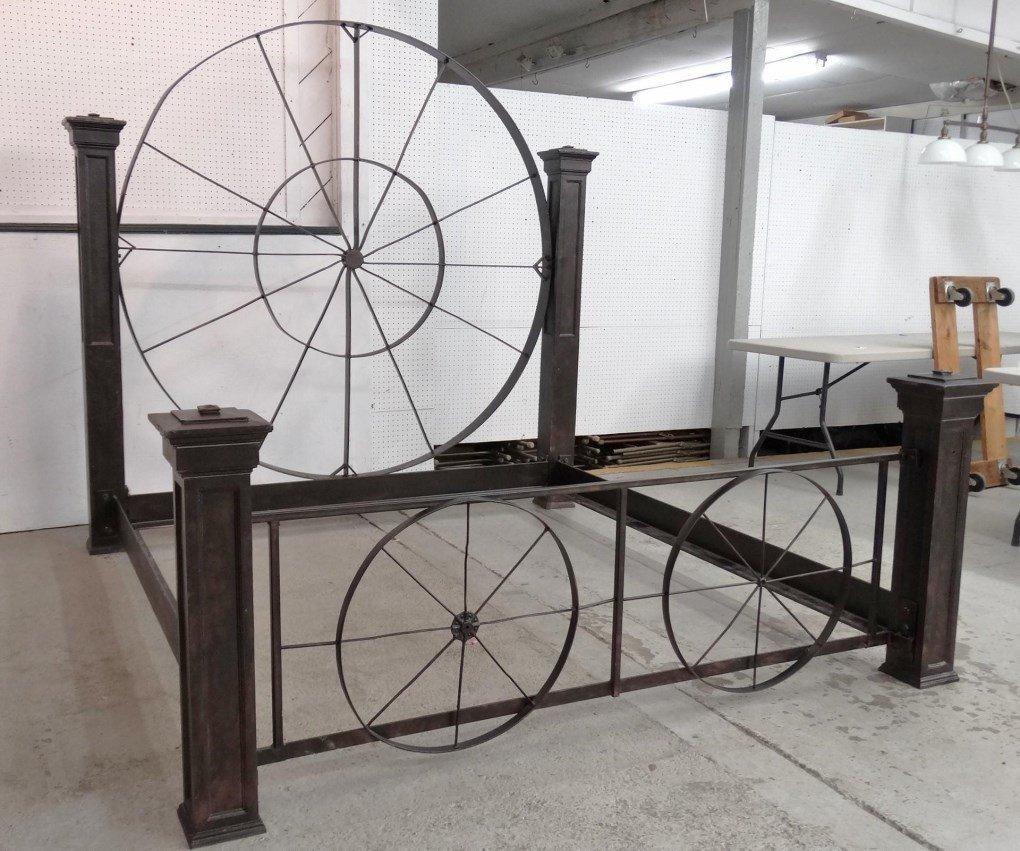 Decorative Metal Bed - 2