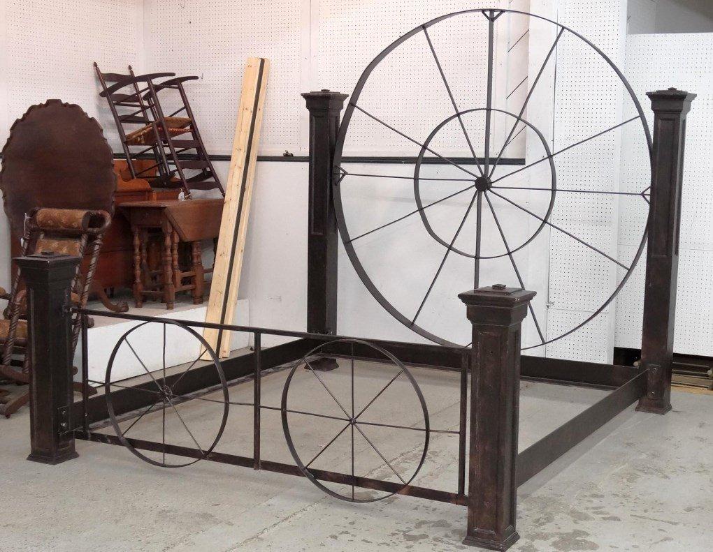 Decorative Metal Bed - 3